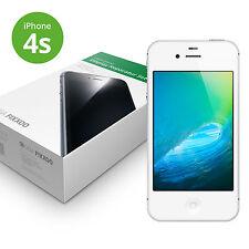 iPhone 4s Display weiß von GIGA Fixxoo Retina Touchscreen LCD Glas + Werkzeug