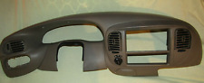 1997-2003 OEM FORD F150 4WD EXPEDITION SPEEDOMETER RADIO BEZEL DASH TAUPE TAN