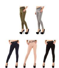 Normalgröße-Röhren -/Tregging Damenhosen aus Polyamid