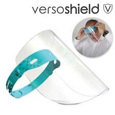 2x ADJUSTABLE ADULT SPLASH-GUARD FACE MASKS Anti-Fog Cough Sneeze Protect Shield
