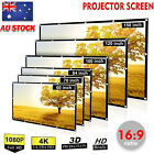 """150"""" Foldable Projector Screen Portable Outdoor Home Movie Cinema 16:9 HD 1080P"""