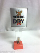 New listing Anheuser-Busch Michelob Dry beer tapper handle tap taps tappers knob pull old F3