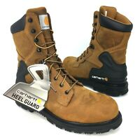 "Carhartt CMW8100 Men's 8"" Non-Safety Toe Electrical Hazard Work Boots Waterproof"