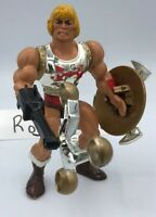 MOTU Vintage FLYING FISTS HE-MAN Masters of the Universe Parts Shield