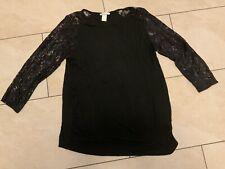 Shirt, Umstandskleidung, Schwangerschaft, Spitze, Bluse, Gr. L, Damen