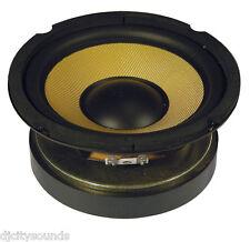 "WOOFER Hi Fi 13cms 8 OHM (5.25"") ad alta potenza 100w Cono Kevlar"