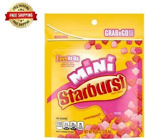 Starburst FaveREDS Minis Fruit Chews Candy Bag, 8 oz