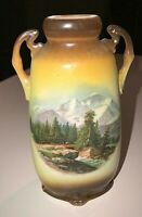 Small Antique Handpainted Antique Germany Vase ~ #2524