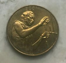 2001 Western African States 25 Francs