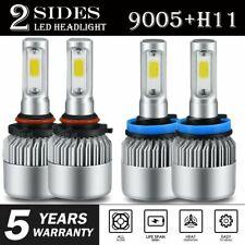 COMBO 9005 H11 LED Headlight Bulb Kit for Toyota Highlander 11-18 High Low Beam