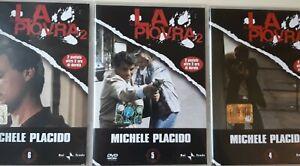 DVD - LA PIOVRA Serie 2 ( 3 dischi 6 episodi ) - L'ESPRESSO REPUBBLICA