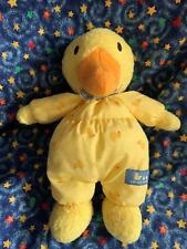 "Carter's Duckies 10"" Yellow Rattle Plush Stuffed Toy"