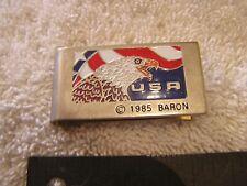 Vintage Money Clip USA Eagle