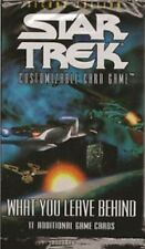 Star Trek CCG -  What You Leave Behind Booster Pack