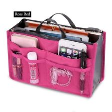 Bag in Bags Cosmetic Storage Organizer Makeup Casual Travel Home Mini Handbag
