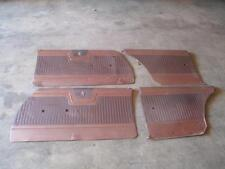 1964 64 Gold Plymouth Fury Door Panels Good Used MOPAR