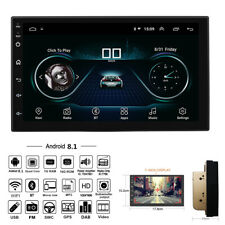 """Android 8.1 Quad-Core High Performance Head Unit 7"""" 1080P Touch Screen FM MP5"""