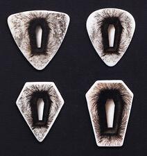 Metallica Coffin 4 Guitar Pick Set - 2008 - 2010 Death Magnetic Tour