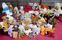 HUGE Selection of Soft Plush Cuddly Toys Teddy Bear Rabbit Cat Puppy Dog Tiger