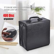 400 Disc CD DVD Organizer Holder Storage Case Bag Wallet Album Media Video Box