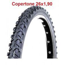 "1 Copertone Nero Tass. 26x1,90 (47-559) Deestone per Bici 26"" MTB Mountain Bike"