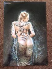 Luis Royo PRINT Fantasy Nude Art Erotic Pinup Sexy Tattoo Piercing Woman SCIFI