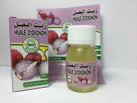 Huile d'Oignon BIO 100% Pure & Naturelle 30ml Onion Oil, Aceite de Cebolla