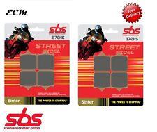 BMW S1000RR Front Brake Pads SBS Street Excel Sintered 870HS 2010