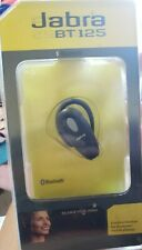 Jabra Bt125 Cordless Headset Bluetooth Single Earpiece Cell Phone Accessory