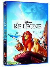 IL RE LEONE DI WALT DISNEY (DVD) NUOVO, ITALIANO, ORIGINALE