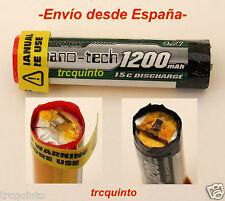 Bateria  modular 15C 1S 3,7v 1200mAh para montar baterias a medida