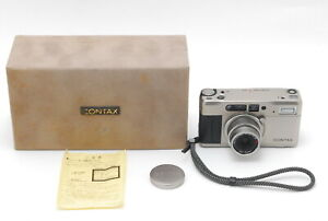 *EX+5 IN CASE* CONTAX TVS Point & Shoot w/Carl Zeiss Vario Sonnar 28-56mm Lens