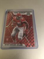 2020 Clyde Edwards-Helaire RED Prizm Mosaic NFL DEBUT .... Hot!!