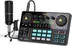Audio Interface DJ Mixer Sound Card Musical Instrument Accessories Equipment