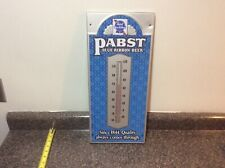 Old Vintage Pabst Blue Ribbon Metal Beer Sign Thermometer Bar Store Advertising