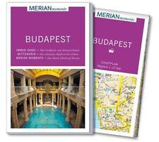 Merian REISEFÜHRER BUDAPEST 2016/17+STADTPLAN; UNGELESEN wie neu, MERIAN momente