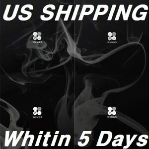 [US SHIPPING] BTS-[Wings]2nd Album Random CD+96p PhotoBook+1p PhotoCard