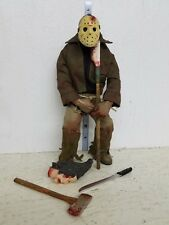 Mezco Cinema of Fear Friday the 13th Jason Voorhees Figure 10in LOOSE