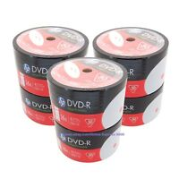 300 HP 16x Blank White Inkjet Printable DVD-R DVDR Recordable Disc Media 4.7GB