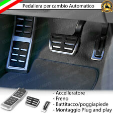 SET PEDALIERA COPRIPEDALI COPRI PEDALI PER CAMBIO AUTOMATICO AUDI A6 C6
