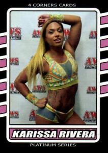 Karissa Rivera Pro Wrestling Trading Card 4 Corner Wrestler Indy WWE AEW C-15