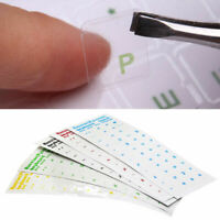 Russian Transparent Stickers Waterproof For PC Laptop Keyboard_Letters