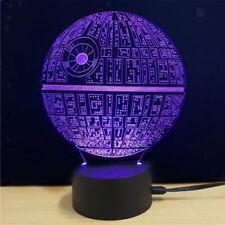 3D Optical Illusion LED Night Light Car Desk Lamp Party Decor Gift for Kids