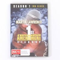 Martin Lawrence 1st Amendment Standup Comedy (Season 1) DVD [PAL Region 4]