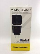 Scosche tuneSTREAM II Bluetooth Wireless Speaker Music Adapter/Receiver NEW BOX