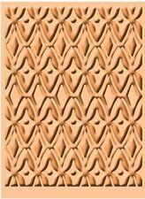 Cuttlebug Craft 4 x 6 A2 Size Embossing Folder Tool - AFRICAN BATIK Background