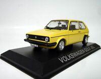 Altaya 1/43 Scale Model Car 14619 - Volkswagen Golf JGL - Yellow