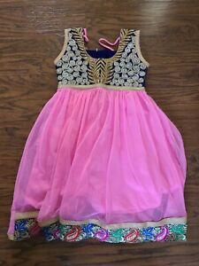 Girls Indian Dress Embroidery Dress 4T