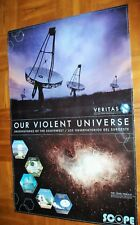 Our Violent Universe Poster - Observatories Of The Southwest Of Public Education