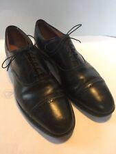 "ALLEN EDMONDS ""Byron"" black leather Cap Toe DRESS OXFORDS sz 14 AA"